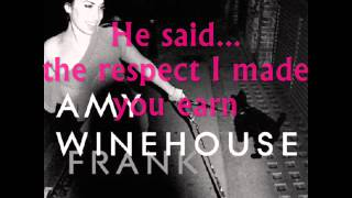Stronger Than Me- Amy Winehouse (lyrics).wmv