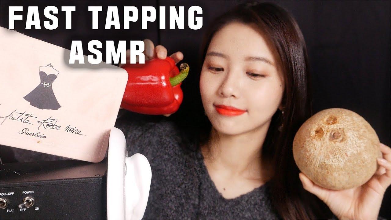 Fast Tapping ASMR 7 different Triggers~  No talking [suna asmr]タッピング,꿀꿀선아,불면증,수면유도,