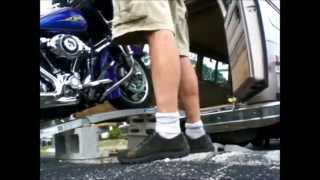 Loading Up New Harley Street Glide Barely Fits  5 2 14 | CORVAIRWILD
