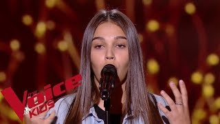 Sam Smith - Writing's on the wall | Manon | The Voice Kids France 2019 | Blind Audition - the voice france 2021 coaches
