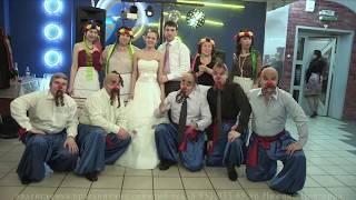 прикольная свадьба.