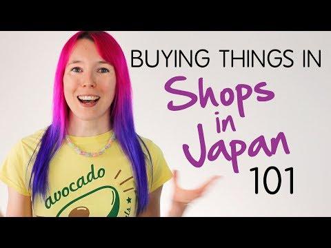 How To BUY THINGS In Shops In Japan: JAPLANNING