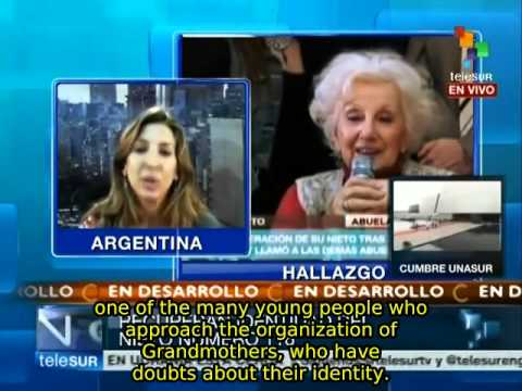 Argentina: Grandmothers of Plaza de Mayo find missing grandchild #116