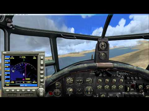 Lancaster Iceland to Greenland ( FSX )
