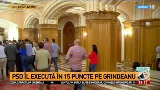 Sorin Grindeanu ieşind de la CEX PSD: Nu a existat niciun vot