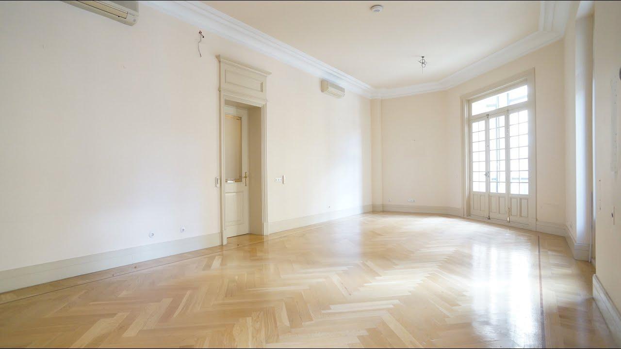 M 41 00462 alquiler piso se orial con techos altos en for Alquiler piso barrio salamanca