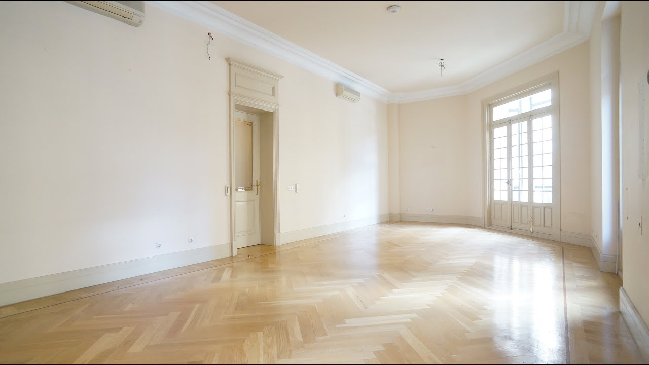 M 41 00462 alquiler piso se orial con techos altos en madrid barrio salamanca youtube - Alquiler piso barrio salamanca ...