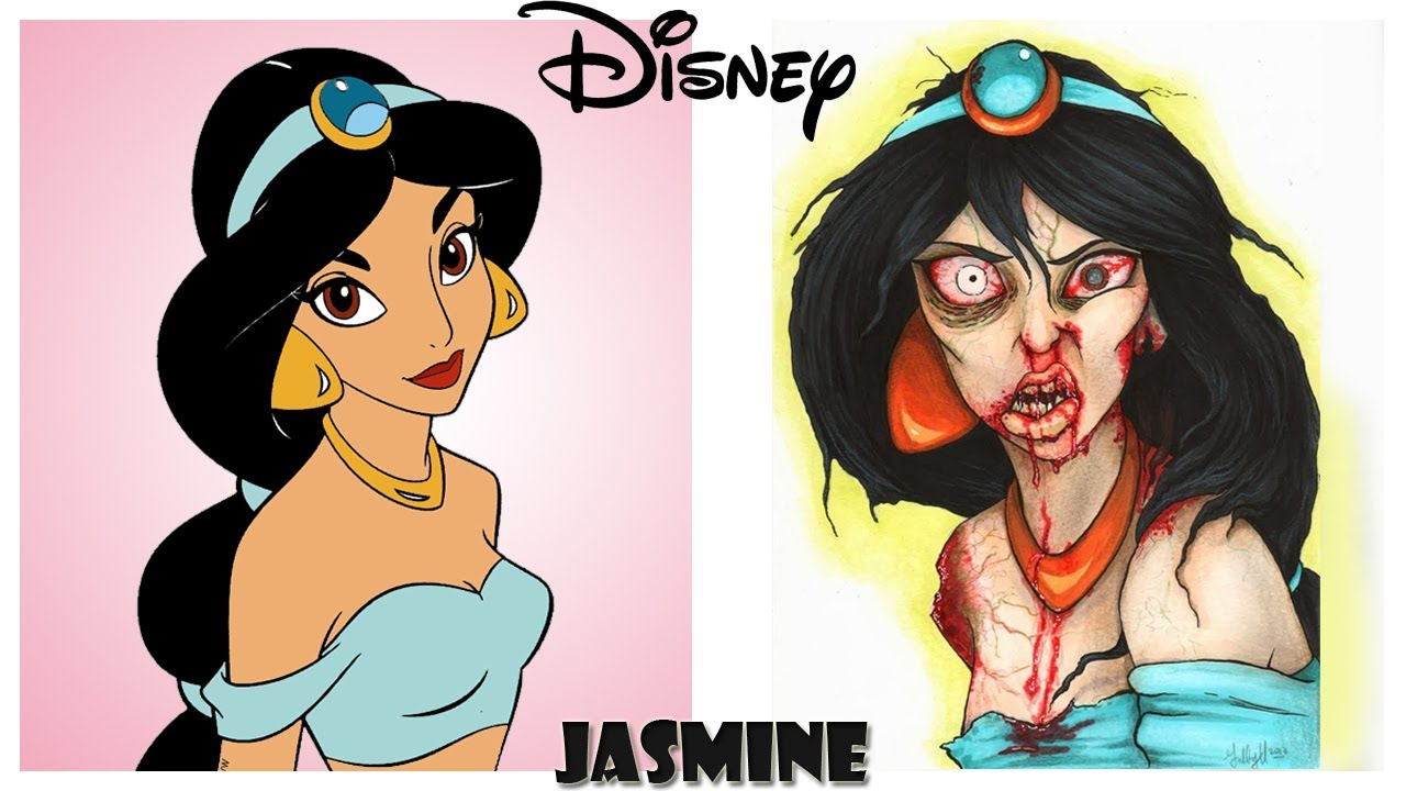Disney Characters As Zombies Youtube