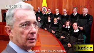 AMENAZAN a la Corte Suprema de Justicia por investigar a URIBE