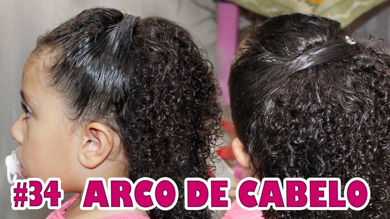 Penteado Infantil Semi Preso Fácil Cabelos Cacheados 34 Especial Ano Novo