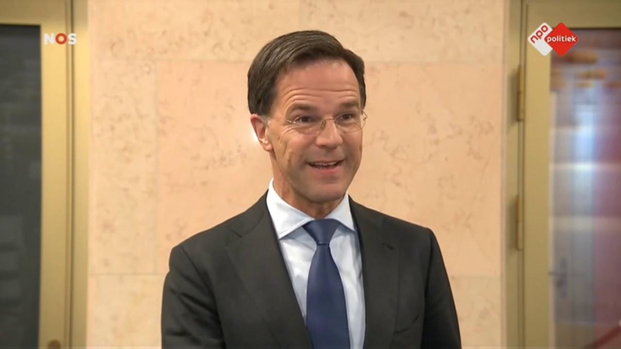 Persconferentie Premier Rutte