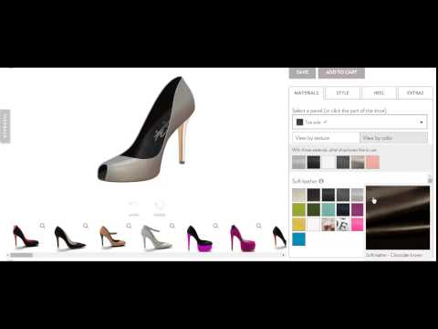 Shoe Design Software by No-Refresh : Custom Shoe Designer Tool
