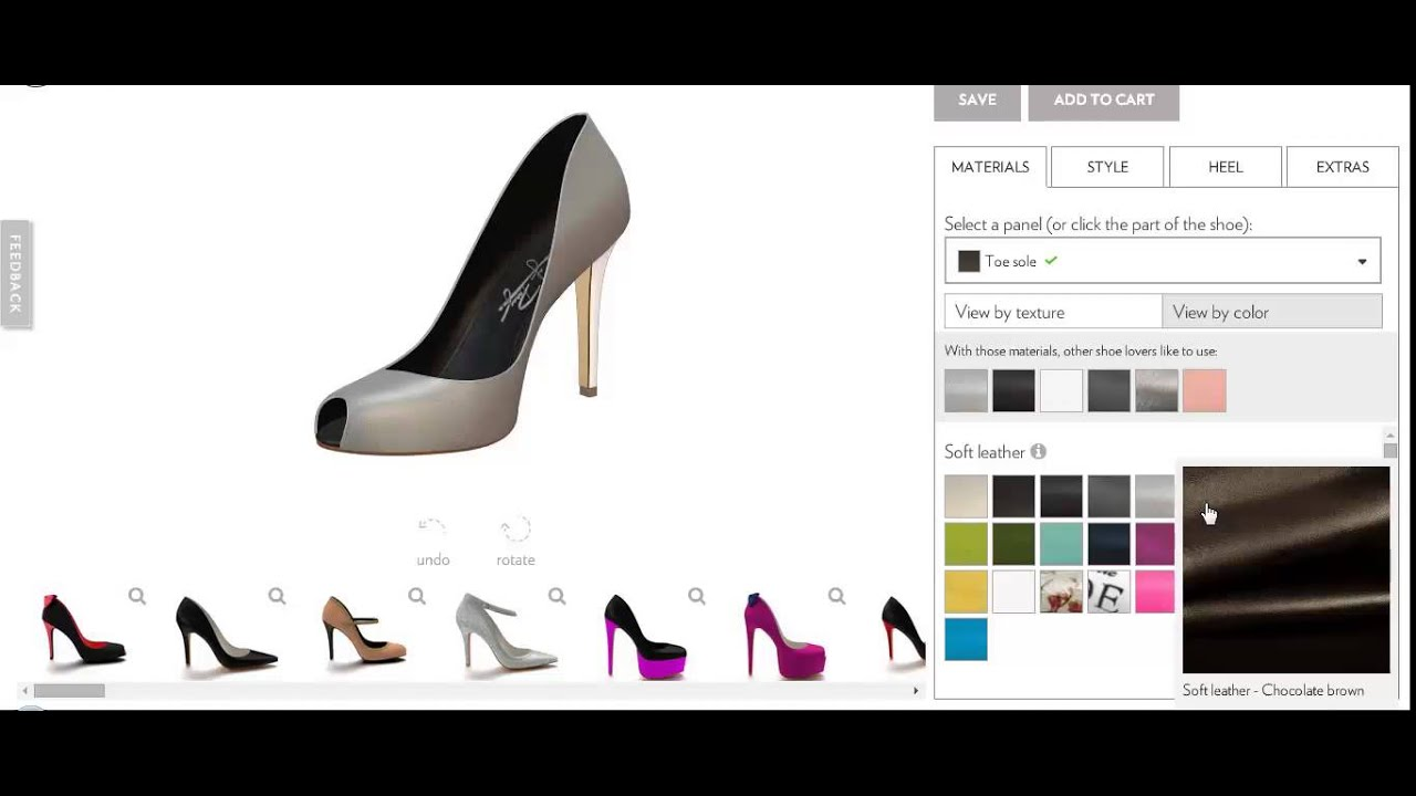 Shoe design software by no refresh custom shoe designer for It design