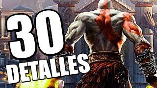 30 DETALLES ALUCINANTES DE GOD OF WAR 2 (PS2, 2007)