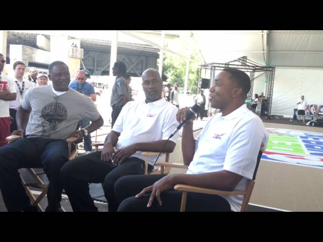 Isaiah Thomas, Dominque Wilkins and Gary Payton Reveal Who They Want On Their 3-on-3 Team