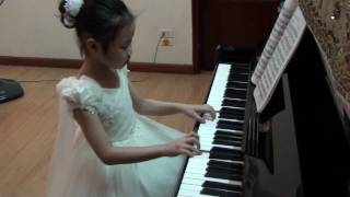Valse Favorite  ( Mozart) performed by My Anh, 7 yrs