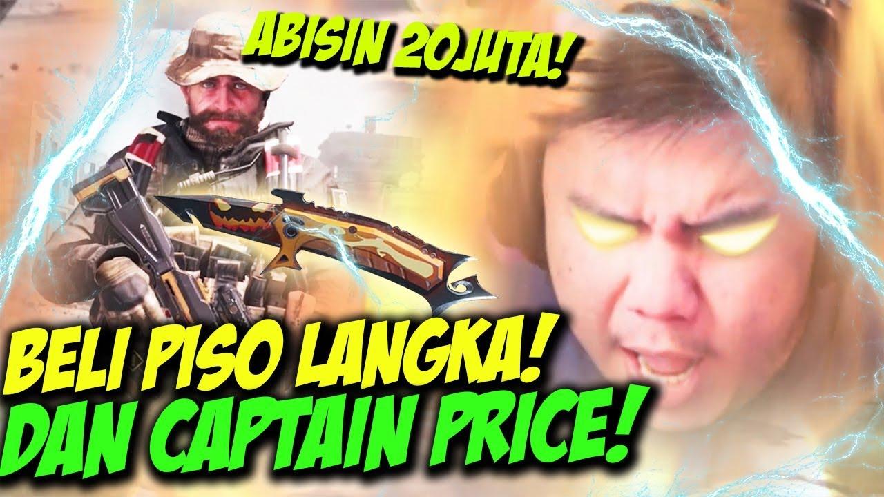 HABISIN 20JUTA BELI KARAKTER CAPTAIN PRICE + PISO LANGKA!! - CALL OF DUTY MOBILE INDONESIA