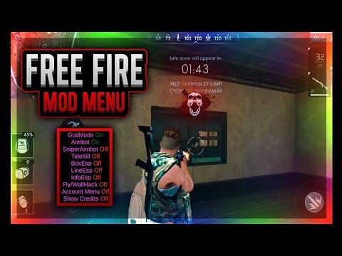 Free Fire Battleground Mod Menu Apk Download Link Youtube