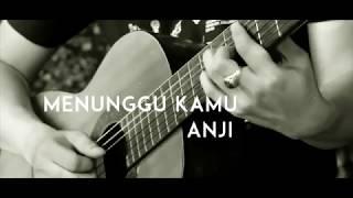 Anji - Menunggu Kamu ( Acoustic Karaoke / Backing Track )
