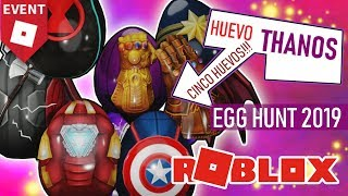 WIE ZU GET THANOS' POWER GLOVE AND ALL THE EGGS OF AVENGERS EGG HUNT 2019 ROBLOX P14