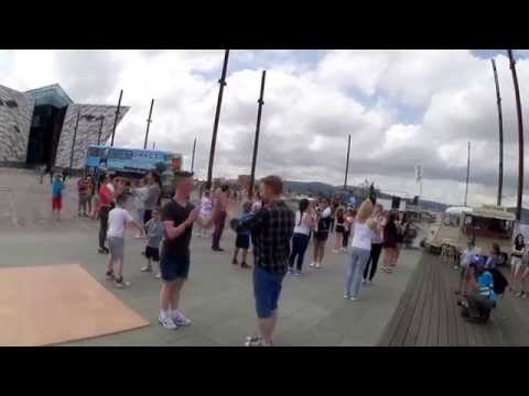Ajendance Tall Ships Flash Mob 3 July 2015