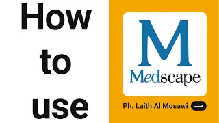كيف تستخدم برنامج مدسكيب؟ How to use Medscape screenshot 2