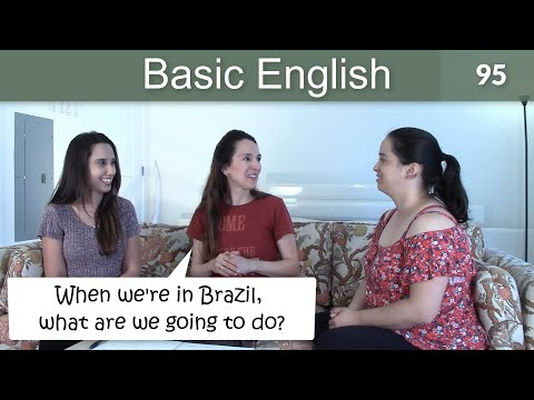 Lesson 95 ????? Basic English with Jennifer ?? Future Time Clauses & A Travel Game!