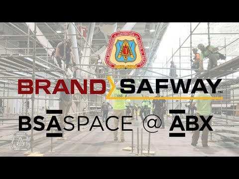 Union Carpenters, Brand Safway Team up to Create BSA Space @ ABX 2017