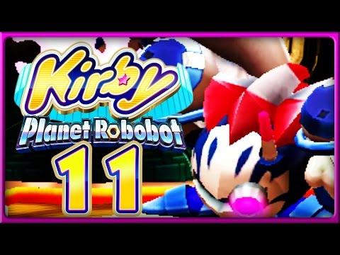 KIRBY: PLANET ROBOBOT Part 11: Mecha-Knight - Meta-Knight Cyborg greift an!
