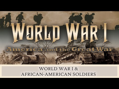 World War I And African-American Soldiers