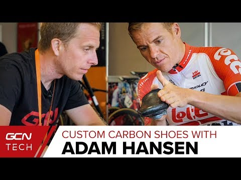 Home-Made Custom Carbon Cycling Shoes With Adam Hansen