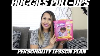 Potty Training: Huggies Pull-Ups Personality Lesson Plan