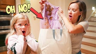 HER BACK TO SCHOOL SHOPPING HAUL WAS RUINED!!!