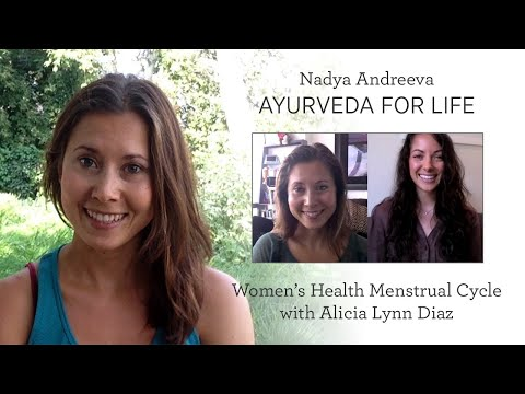 An Ayurvedic Approach to Women's Healthy Menstrual/Moon Cycle