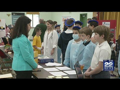 Saint John the Baptist School holds career day for students