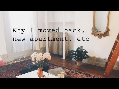 Why I Moved Back Home/ My New Apartment