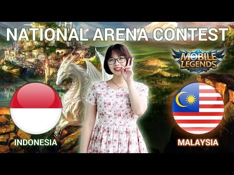 INDONESIA VS MALAYSIA - National Arena Contest Cast by Kimi Hime - 03/03/2018
