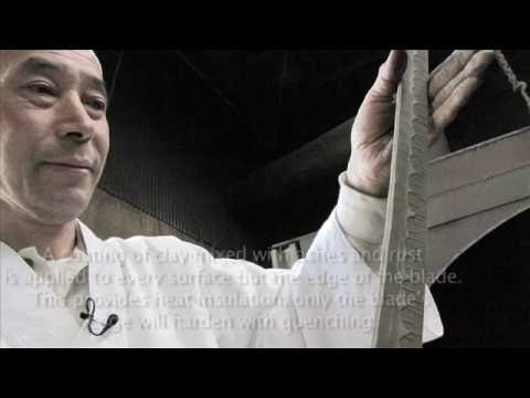 Japan's most famous Katana forging artisan Kobayashi filmed by ADEYTO