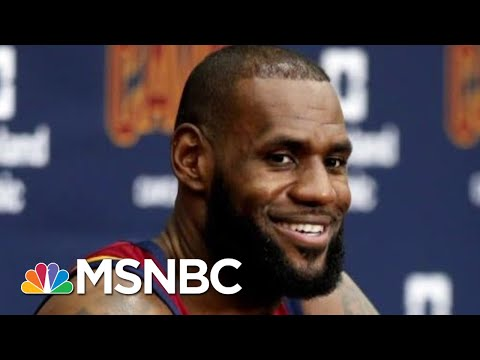 With New School, LeBron James Refuses To 'Shut Up & Dribble' | Deadline | MSNBC