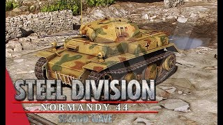 SECOND WAVE DLC 9th Panzer - Steel Division Normandy 44 Gameplay Sainte-M re-glise,Very Hard AI