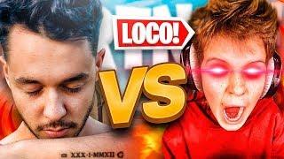 Juego 1 VS 1 contra EL SUSCRIPTOR MÁS LOCO de Fortnite...
