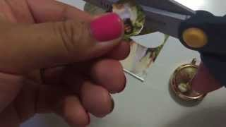 K2H Lockets : DIY How to make a picture background for your 30mm locket.