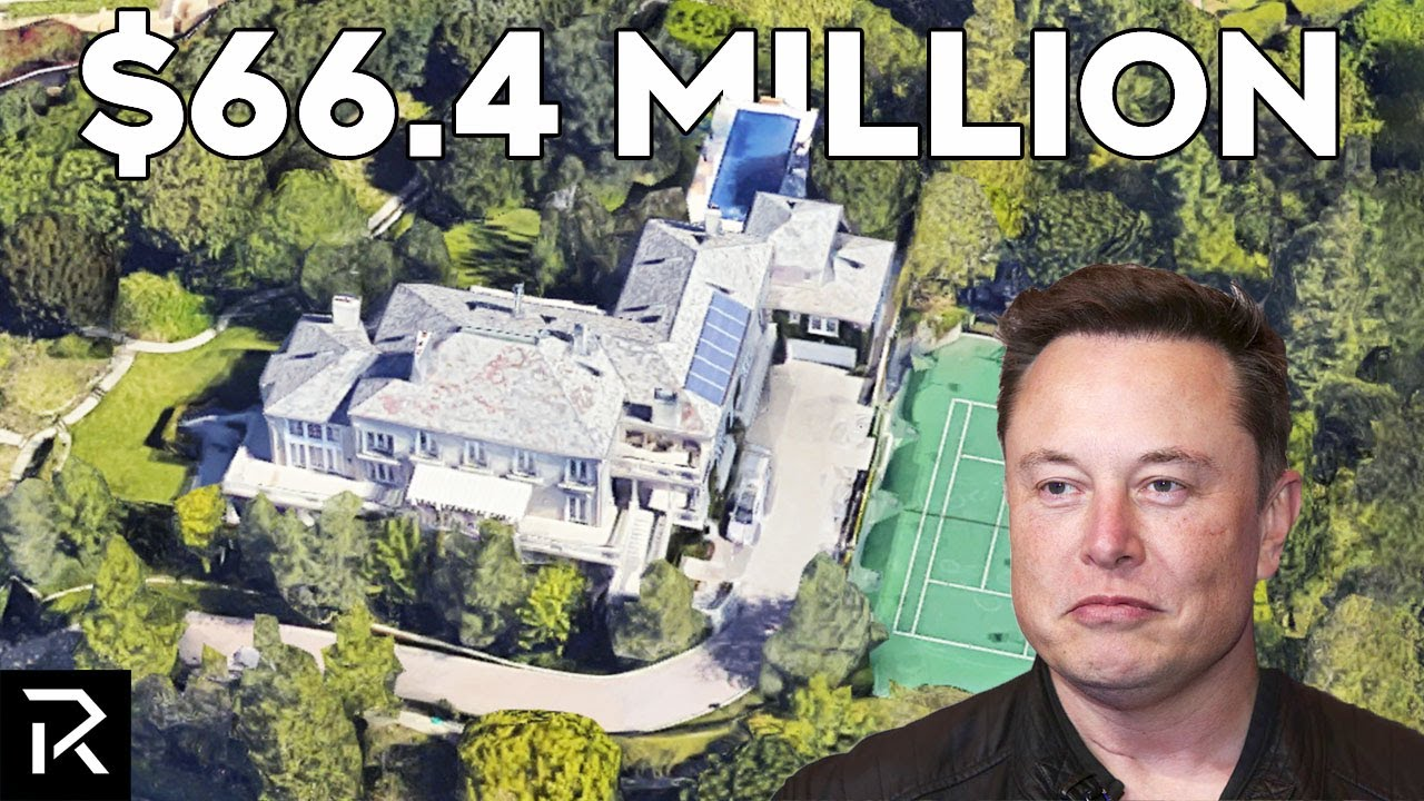 """Every House Elon Musk Sold To """"Own No Home"""""""