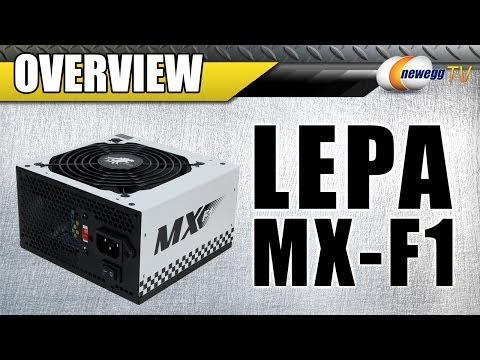 LEPA MX-F1 600W/400W/350W ATX Power Supply Overview - Newegg TV