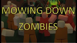 This Game is LIT! - Zombie Rush (Roblox)