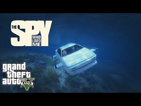 GTA V - The Spy Who Loved Me 1977 Chase Scene (Remake)