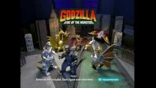 trendmasters godzilla king of the monsters tv commercial