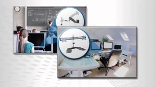 Desk Mounts for Flat Panel Displays by Tripp Lite