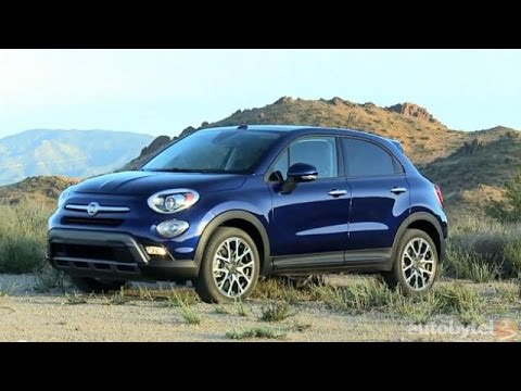 2016 FIAT 500X Lounge AWD Test Drive Video Review