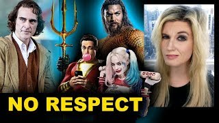 DCEU Rotten Tomatoes - Aquaman, Shazam, Joker, Birds of Prey